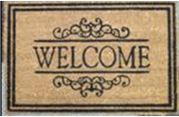 traditional welcome mat