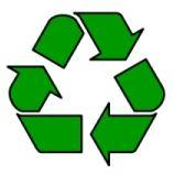 Recycling 'Mobius loop'