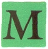 weights and measures M mark