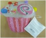 Polystyrene cupcake