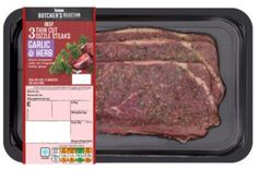 Butcher's Selection Garlic & Herb Thin Cut Beef Sizzle Steak