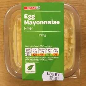 Egg Mayonnaise Sandwich Filler