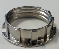 Cast metal ring