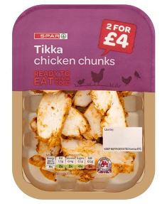 SPAR Chicken Tikka Chunks