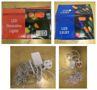 LED decorative lighting chains