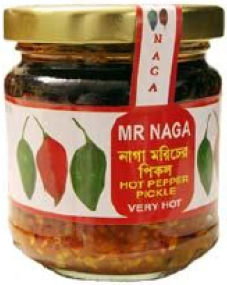 Mr Naga Hot Pepper Pickle