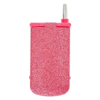 Pink Glitter Cellphone Makeup Compact