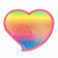 Rainbow Glitter Heart Shaped Makeup Set