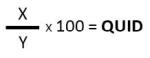 QUID formula